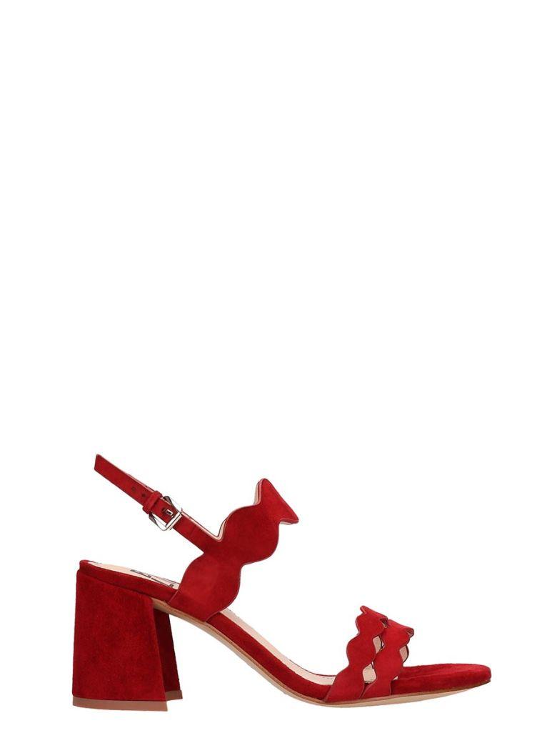 Bibi Lou Red Suede Sandal - Red