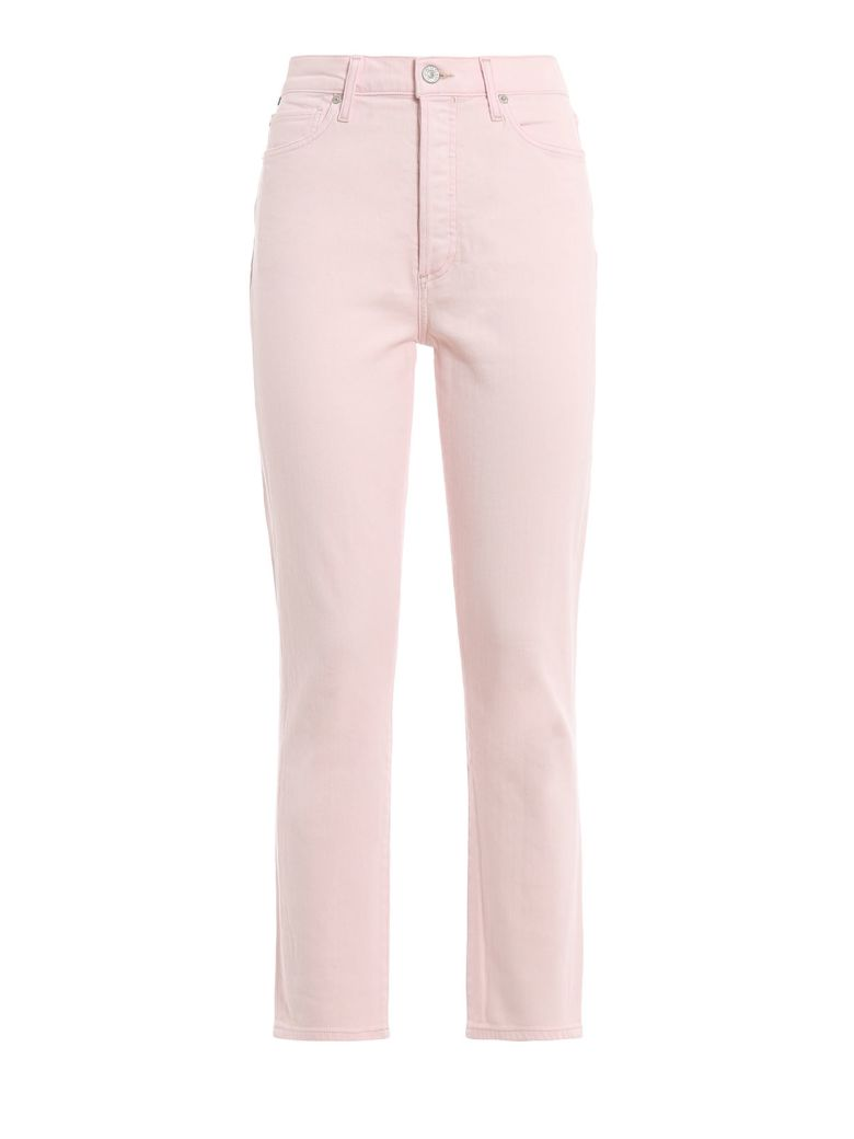 Citizens of Humanity Olivia Crop Jeans - Rosewater