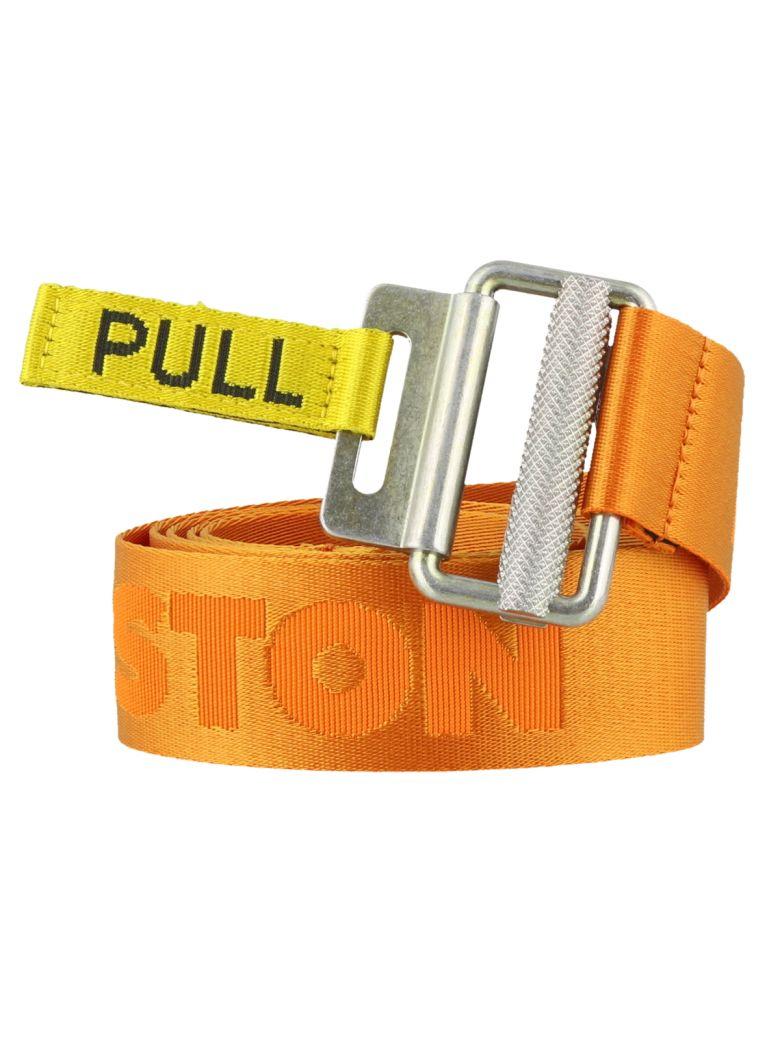 HERON PRESTON Logo Pull Belt - Orange