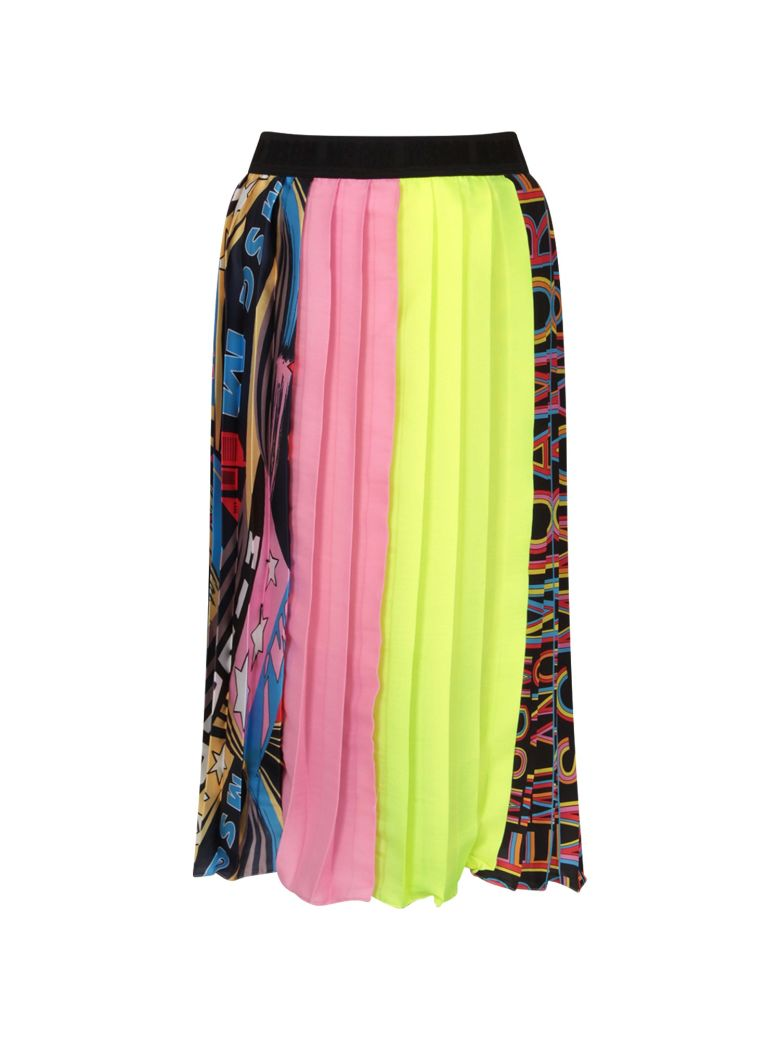 Msgm COLORFUL GIRL PLEATED SKIRT