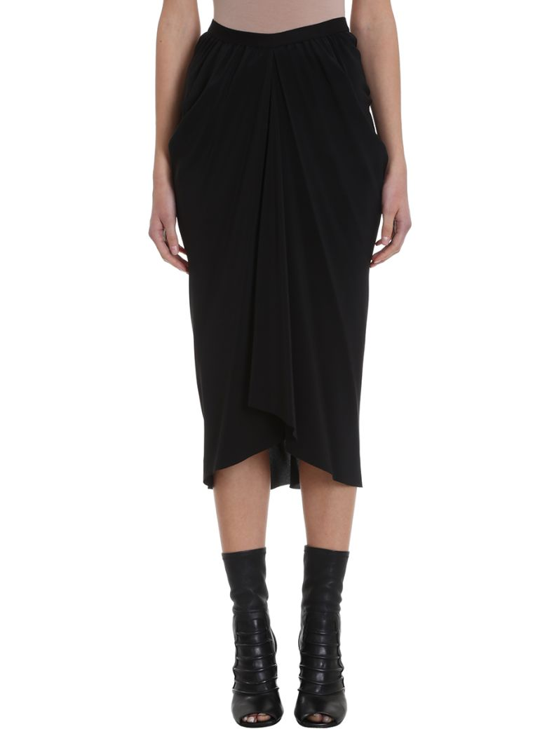 Rick Owens Kite Babel Skirt - black