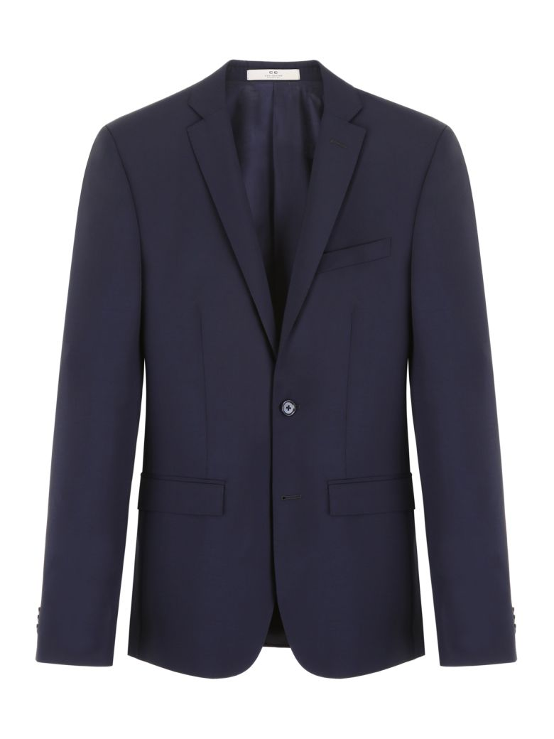 CC Collection Corneliani Wool And Mohair Dress - BLU NAVY|Blu