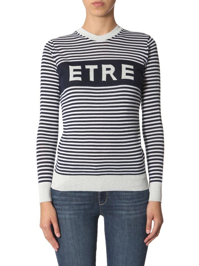 Etre Cecile Striped Sweater - BLU