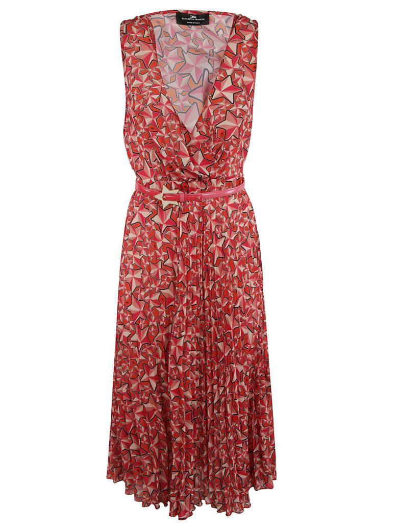 Elisabetta Franchi Celyn B. Elisabetta Franchi For Celyn B. Printed Dress - Multicolor