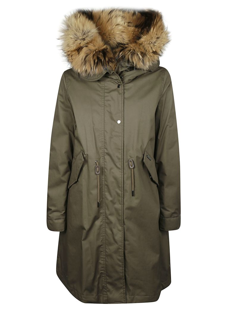 Woolrich Cascade Parka - Military Olive