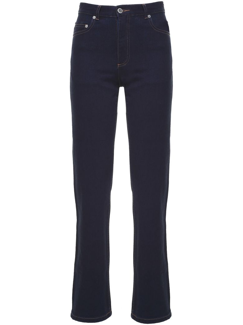 A.P.C. Standard Court Japanese-cotton High-rise Jeans - Indigo