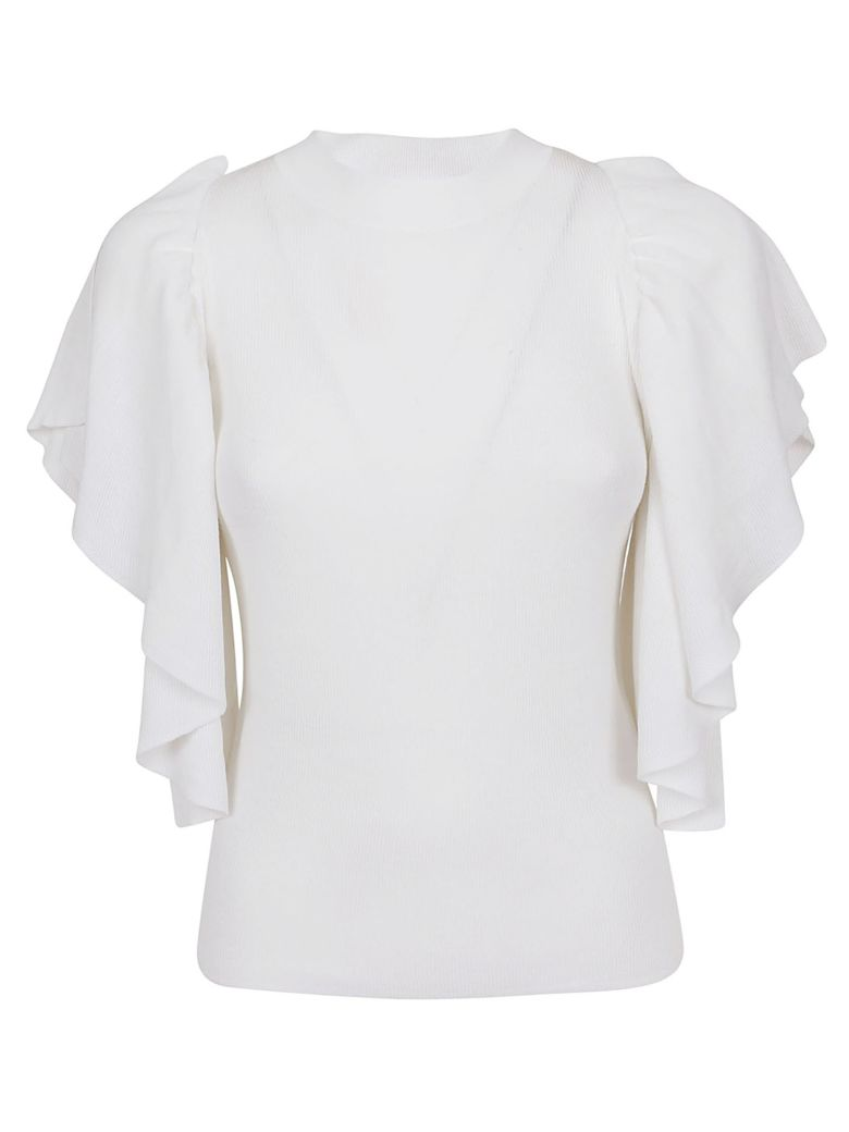 See by Chloé Flared Blouse - .white