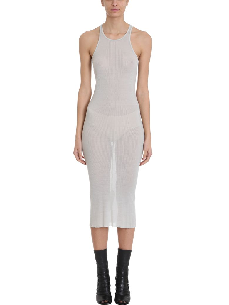 Rick Owens Tank Dress - grey