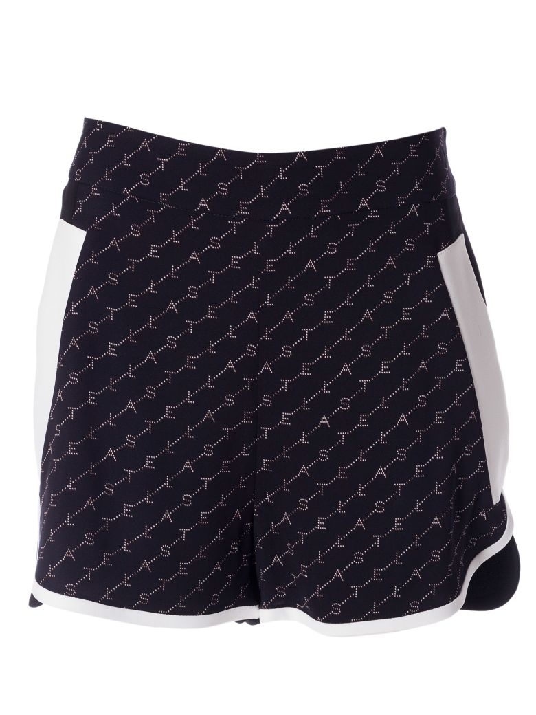 Stella McCartney Logo Slim Shorts - Ink