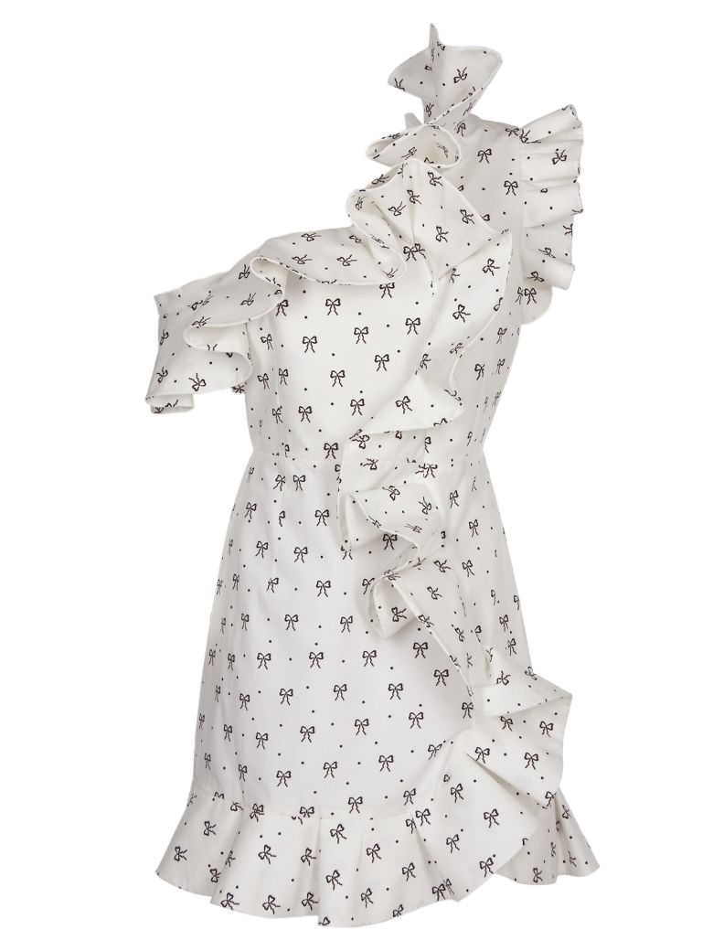 Vivetta Ruffled Dress - white