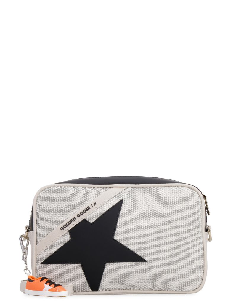 Golden Goose Star Bag Leather Camera Bag - Beige