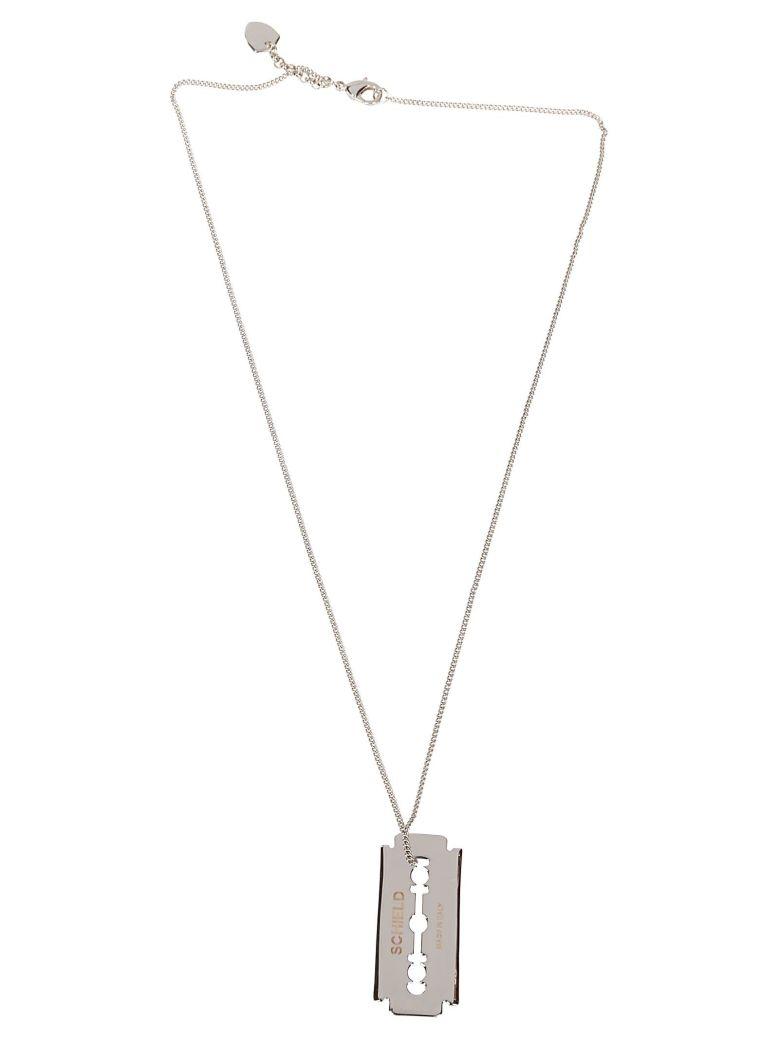 Schield Blade Necklace - Silver