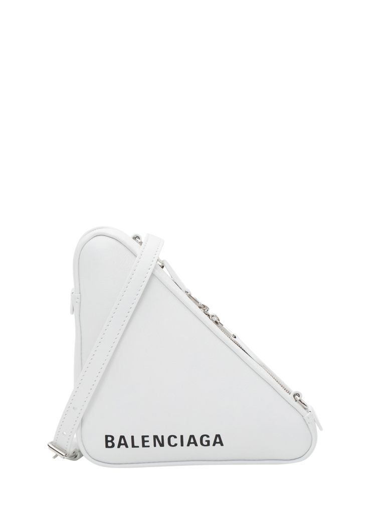 Balenciaga Triangle Duffle - White