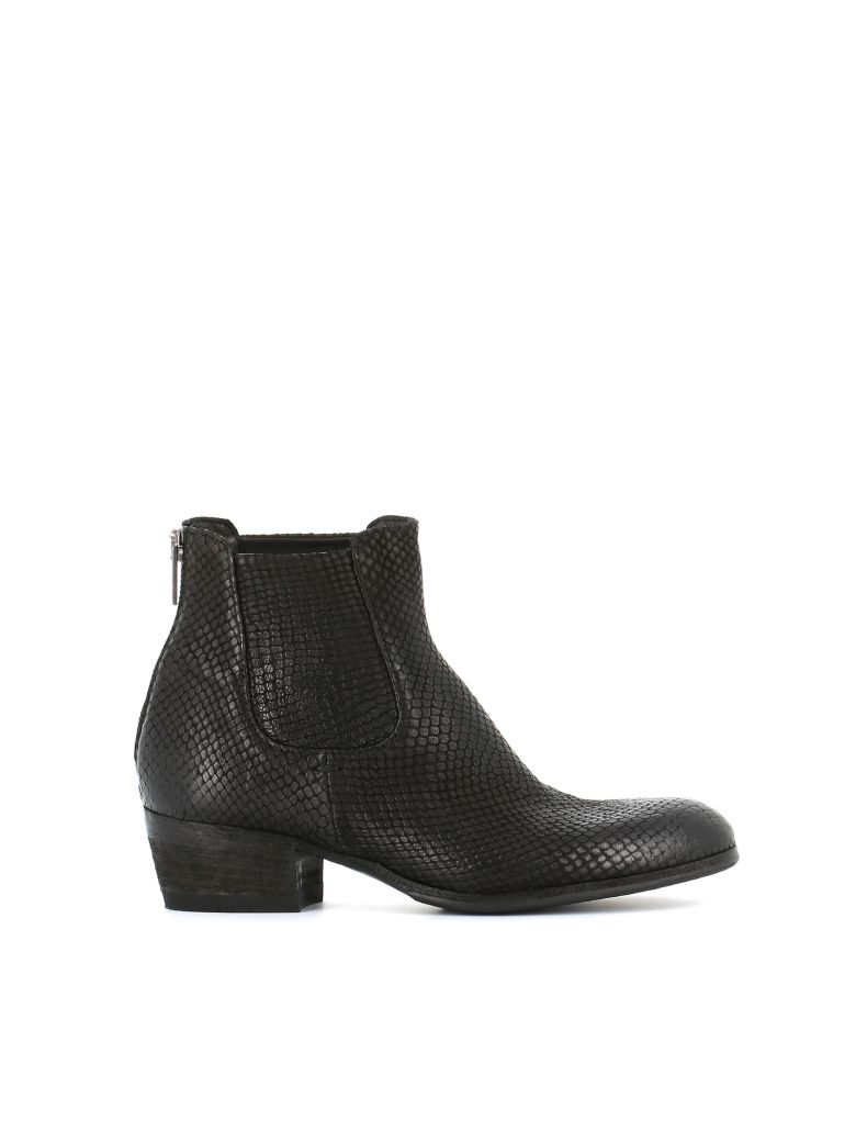 """Pantanetti Ankle Boot """"11685f"""" - Black"""