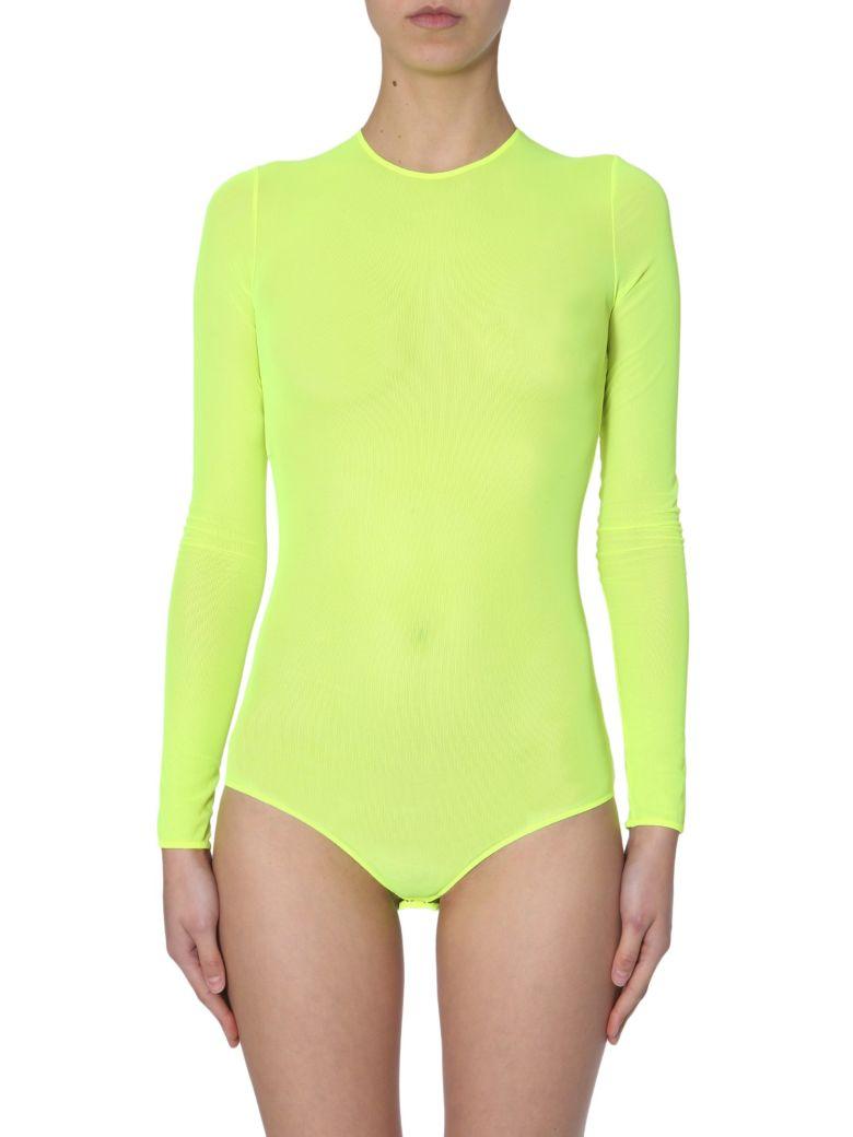 Maison Margiela Long Sleeved Bodysuit - GIALLO