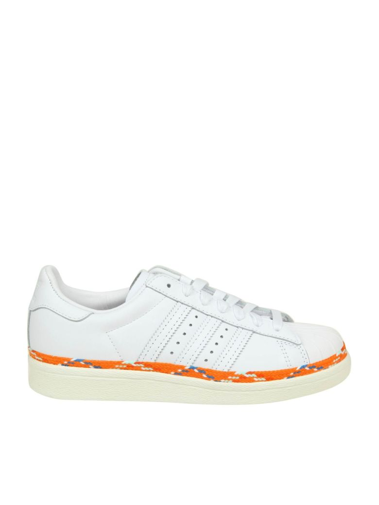 Adidas Originals Sneakers Sst 80s New Bold In White Leather - White