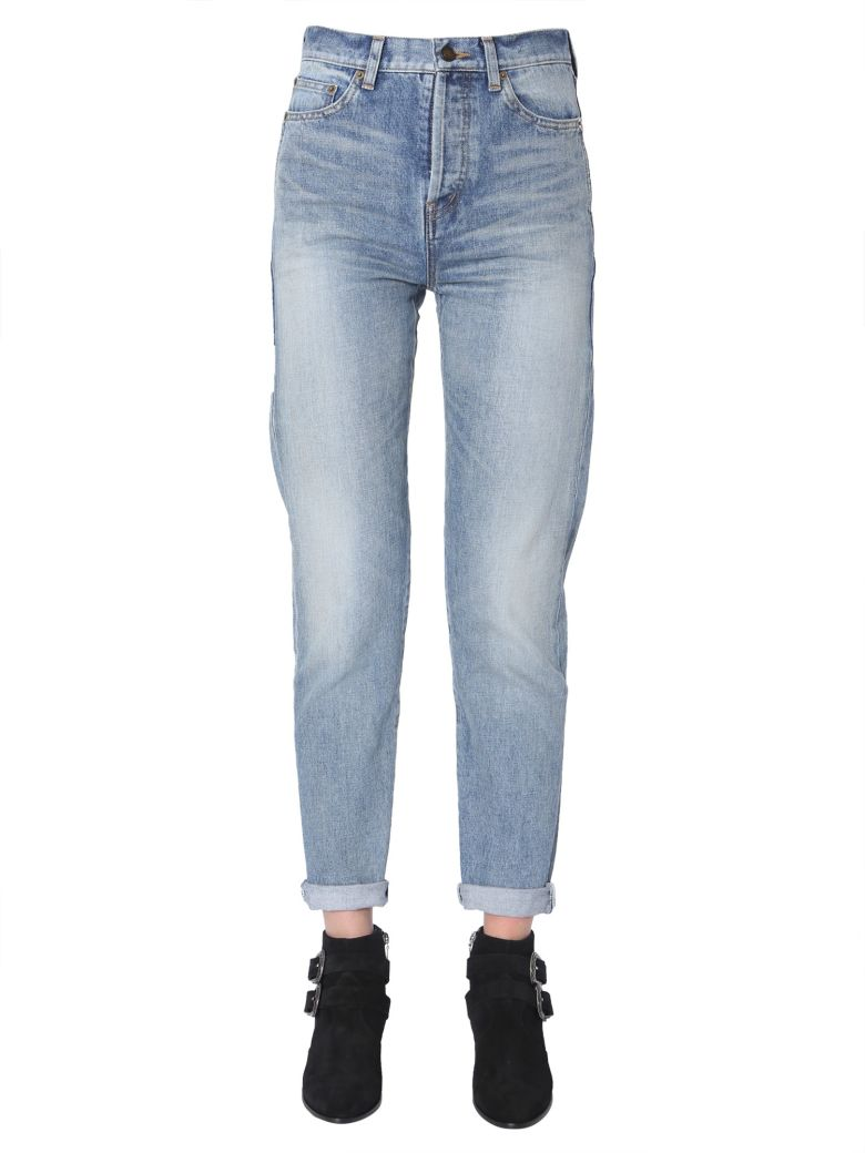 Saint Laurent Slim Fit Jeans - DENIM