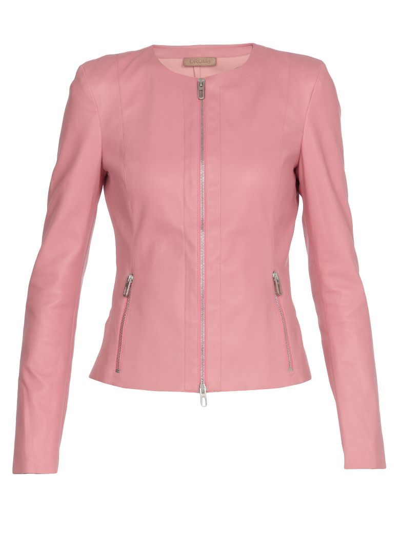 DROMe Leather Jacket - PINK