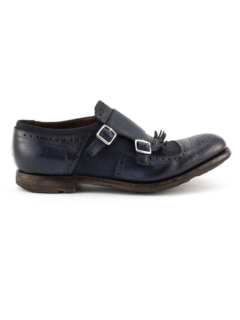 Church's Blue Shanghai Monk Shoes - Baltik