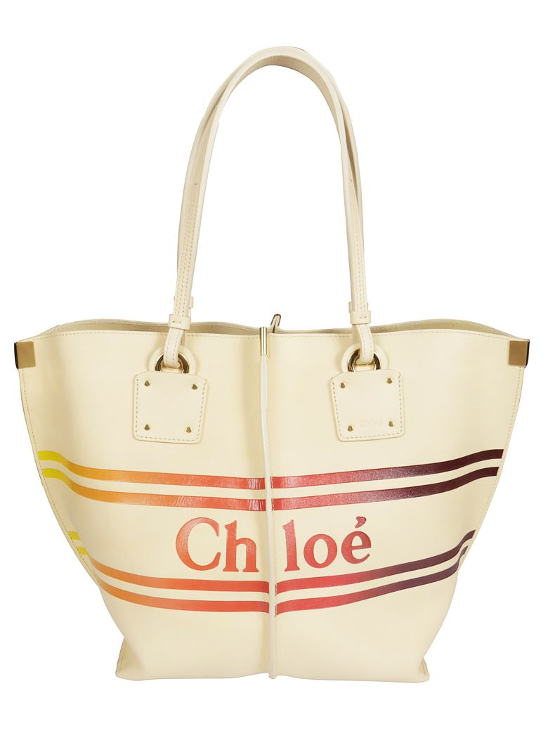 Chloé Small Logo Tote - Basic