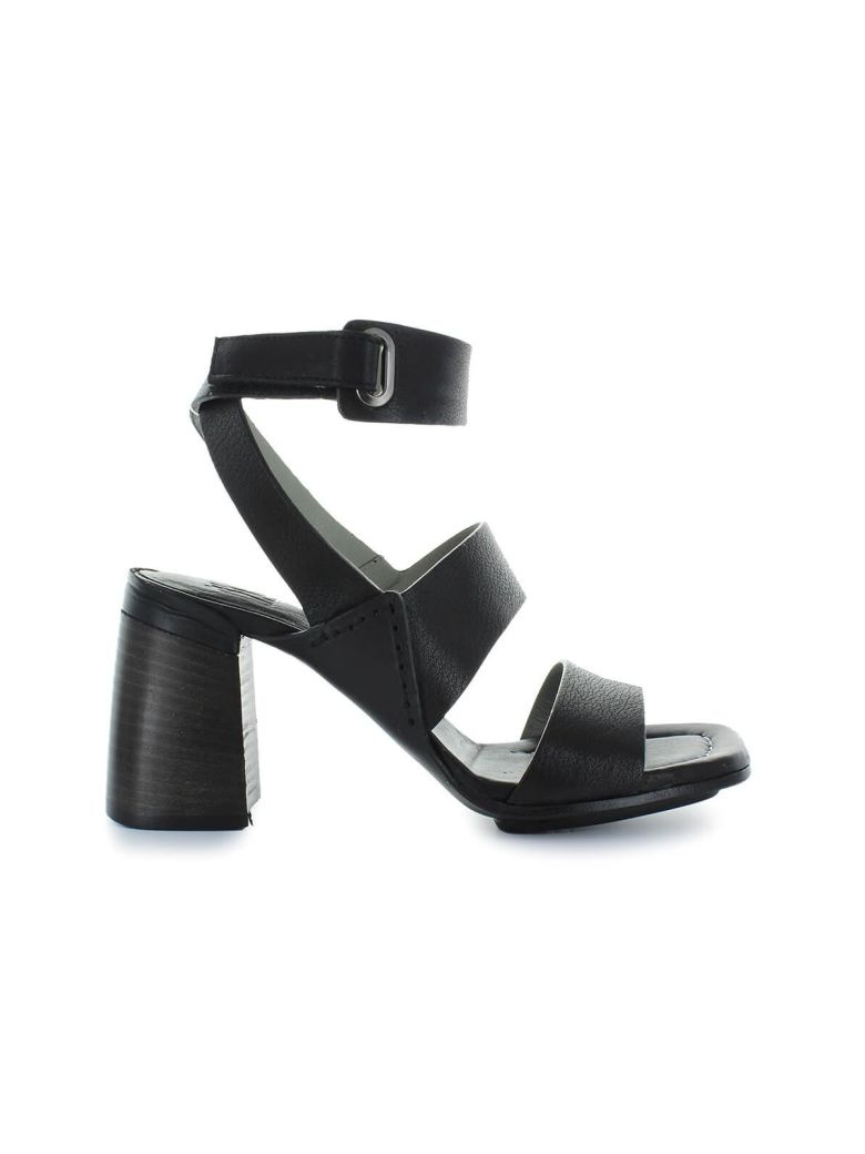 IXOS Black Heeled Sandal - Nero (Black)