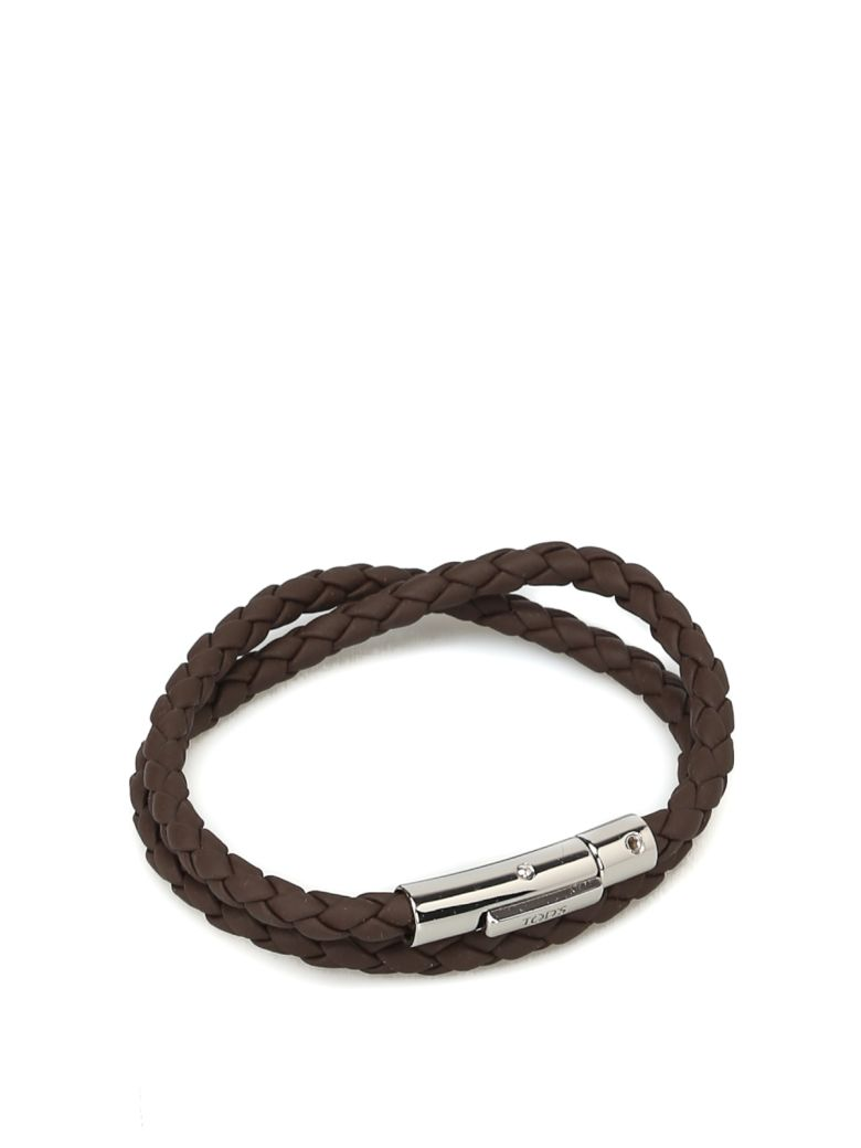 Tod's Mycolors Bracelet In Leather - Brown