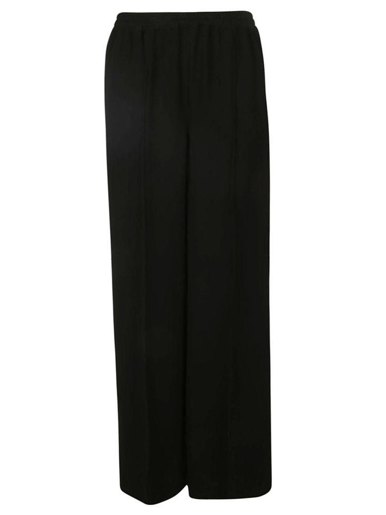 Aspesi Wide-leg Trousers - Black