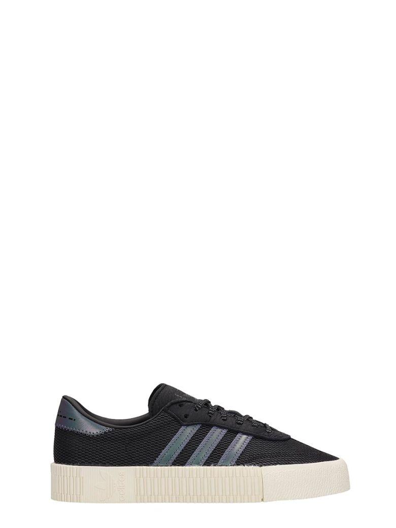 Adidas Black Technical Fabric Sambarose W Sneakers - black