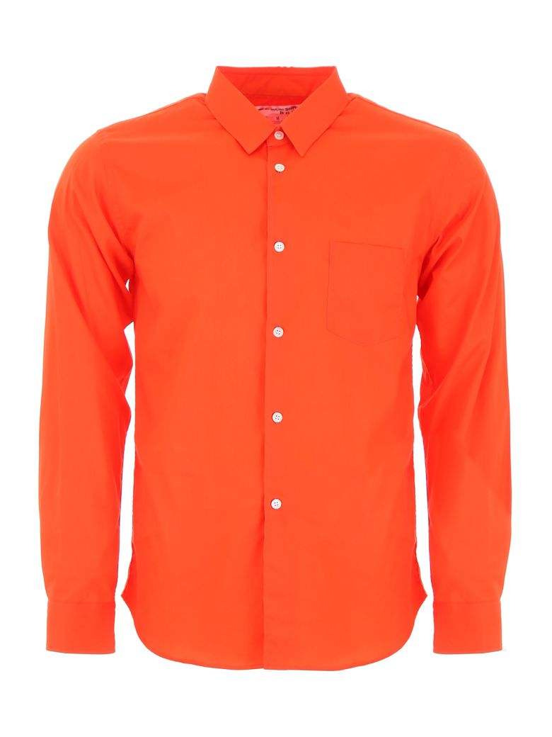 Comme des Garçons Shirt Boy Shirt With Logo On The Back - RED (Red)