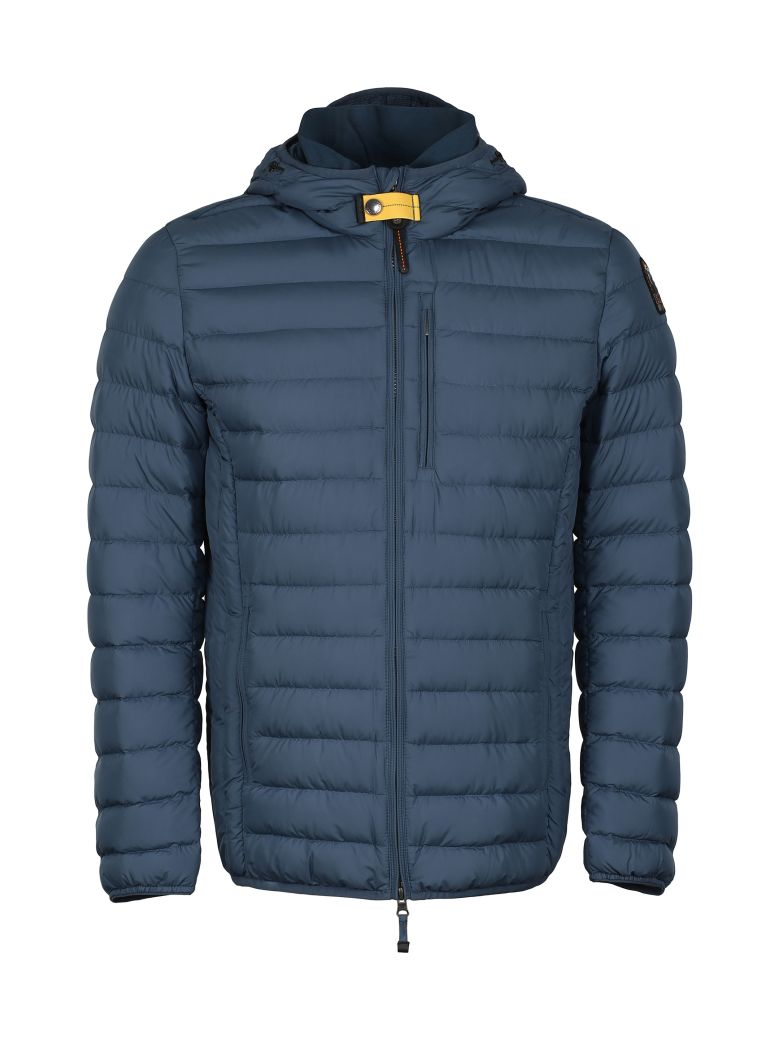 Parajumpers Last Minute Full Zip Padded Jacket - blue