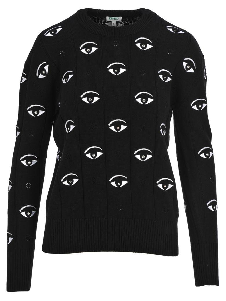 Kenzo Knitwear Eyes - BLACK