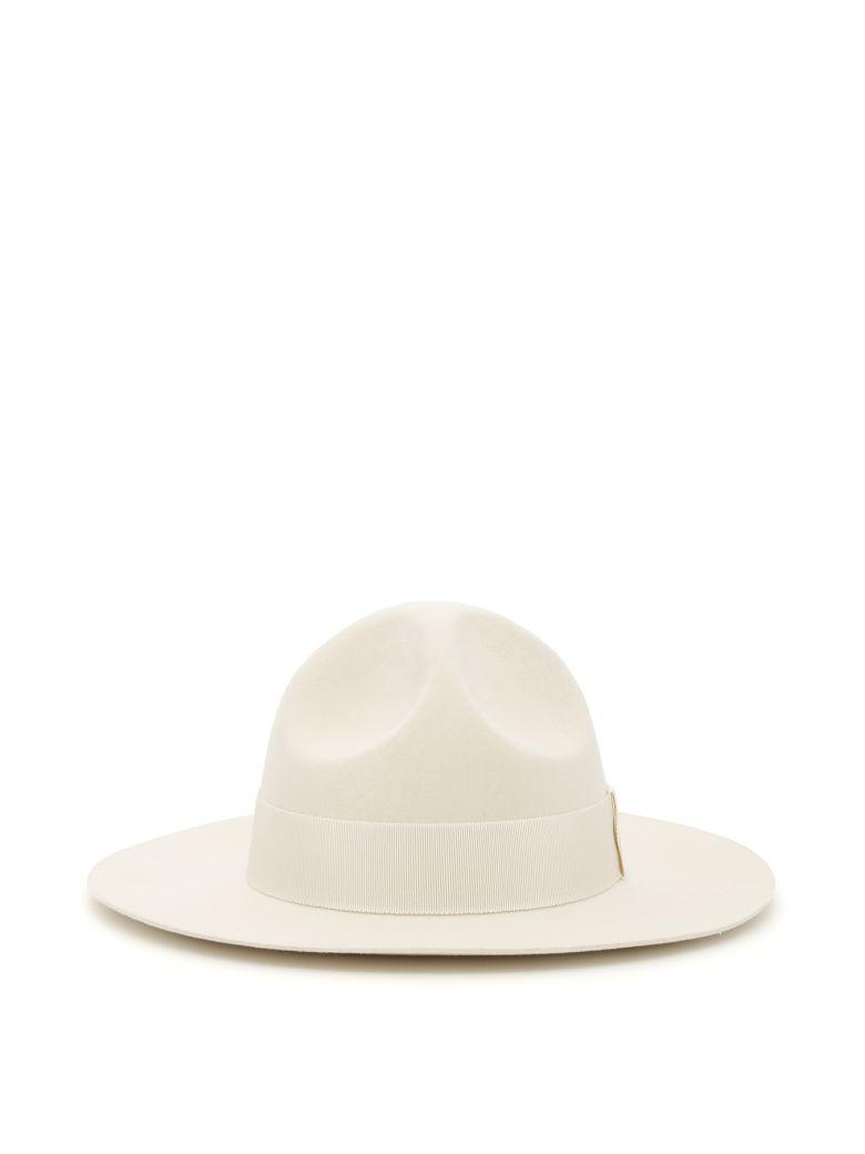 Ruslan Baginskiy Felt Hat - WHITE (White)