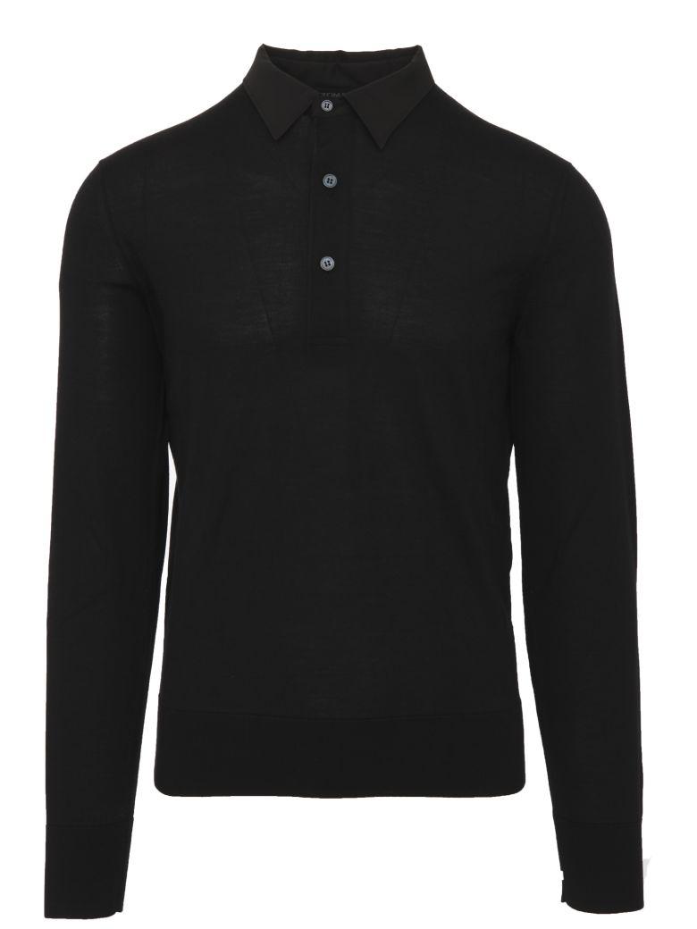 Tom Ford Polo Shirt - Black