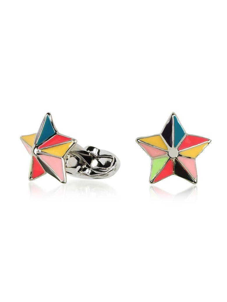 Paul Smith Multicolor Star Cufflinks - Multicolor
