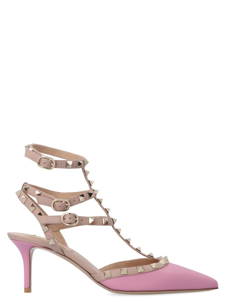 Valentino Garavani 'rockstud' Shoes - Pink