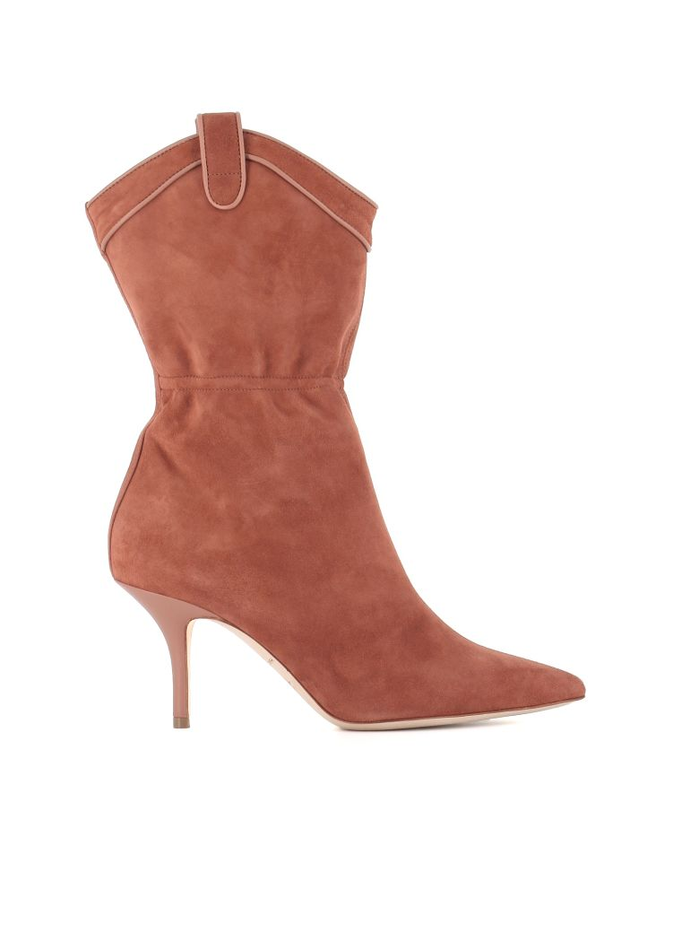 """Malone Souliers Boots """"daisy 70"""" - Nude"""
