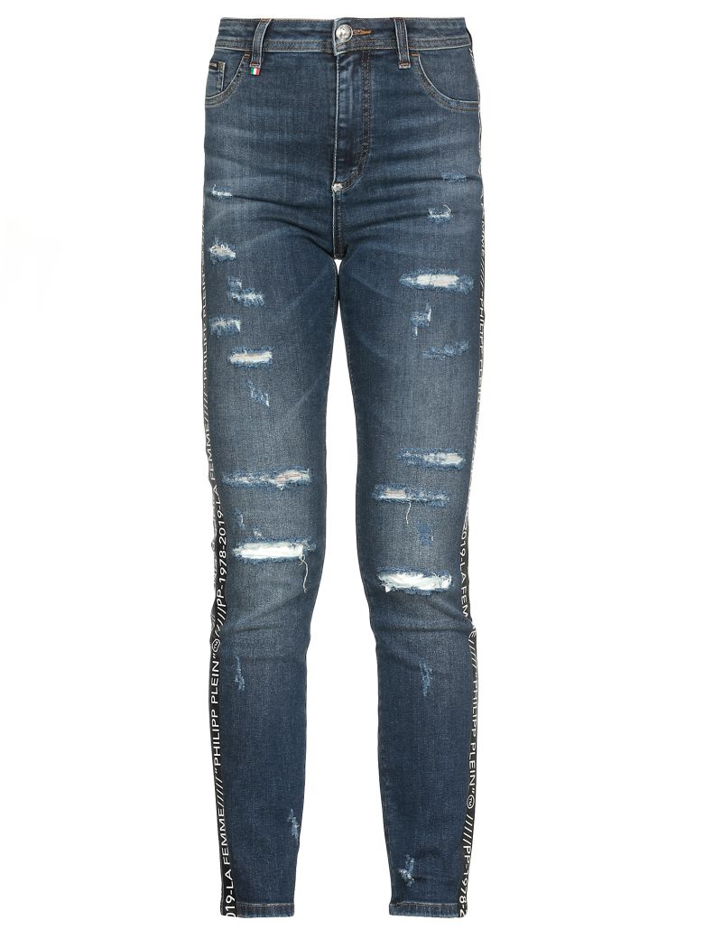 Philipp Plein Cotton Jeans - Summer Breeze