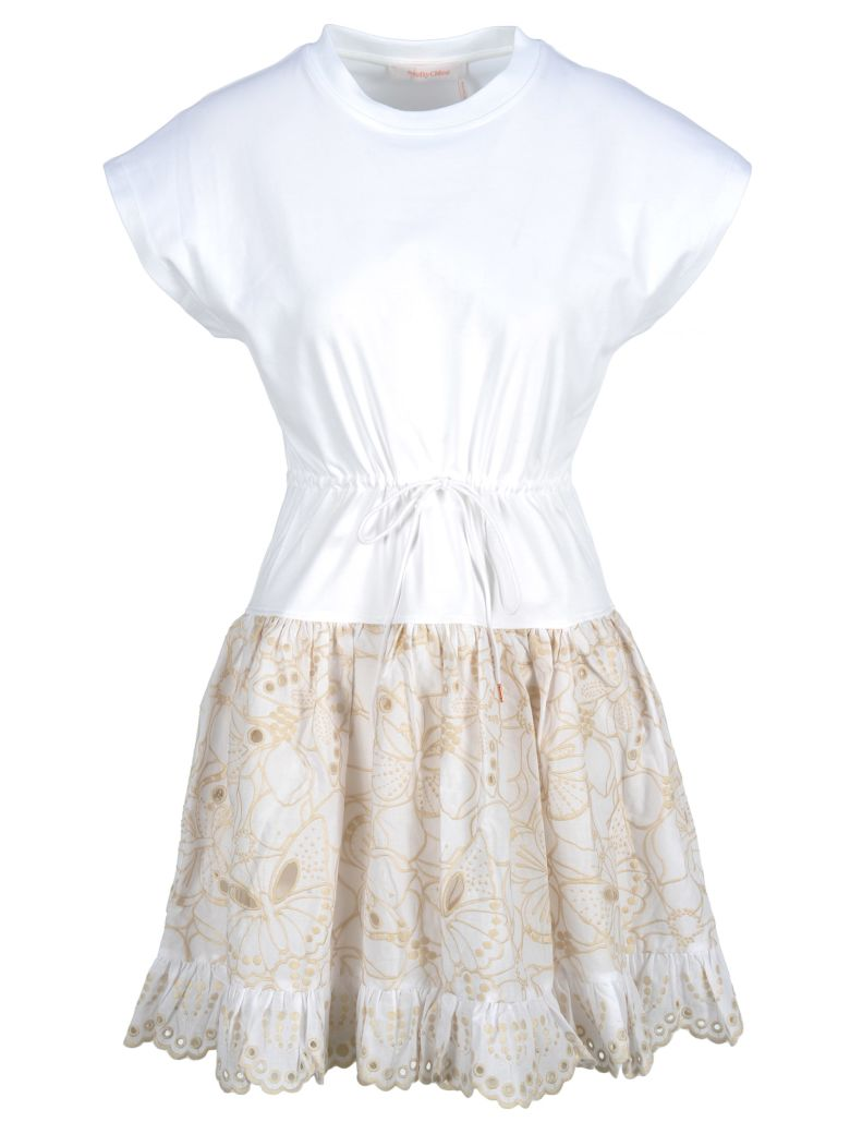 See by Chloé See By Chloe' Dress - Beige
