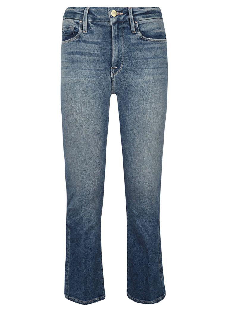 Frame Flared Cropped Jeans - Altapura