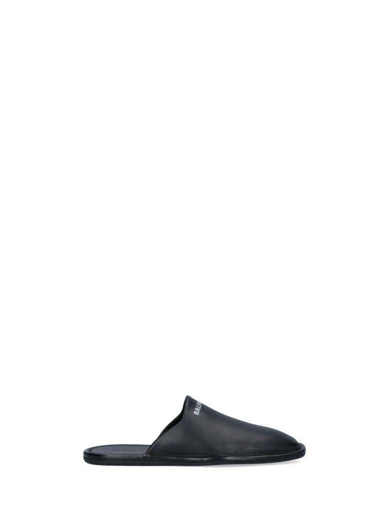 Balenciaga Cozy Slipper - Black