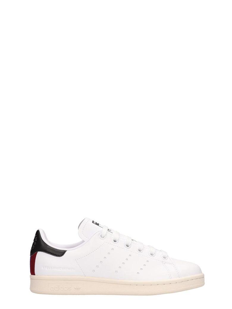 Adidas Originals White Leather Stan Smith Sneakers Stella Mccartney Collaboration - white