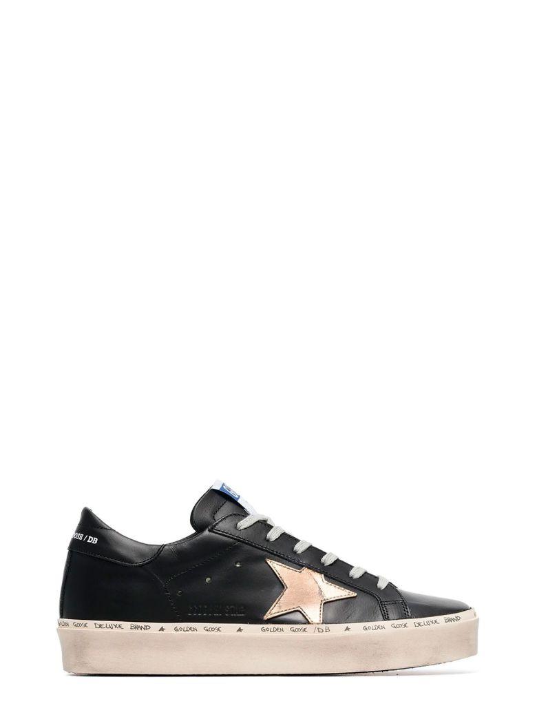 Golden Goose Hi Star Sneakers - NERO