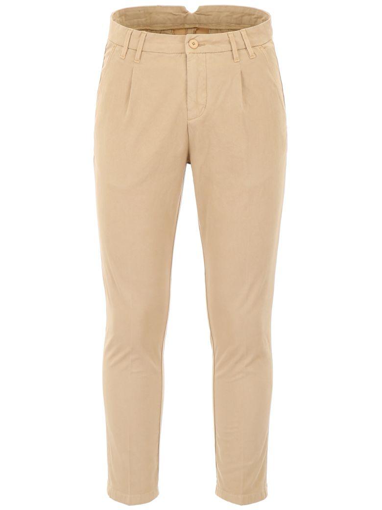 CC Collection Corneliani Chino Trousers - BRUCIATO|Beige