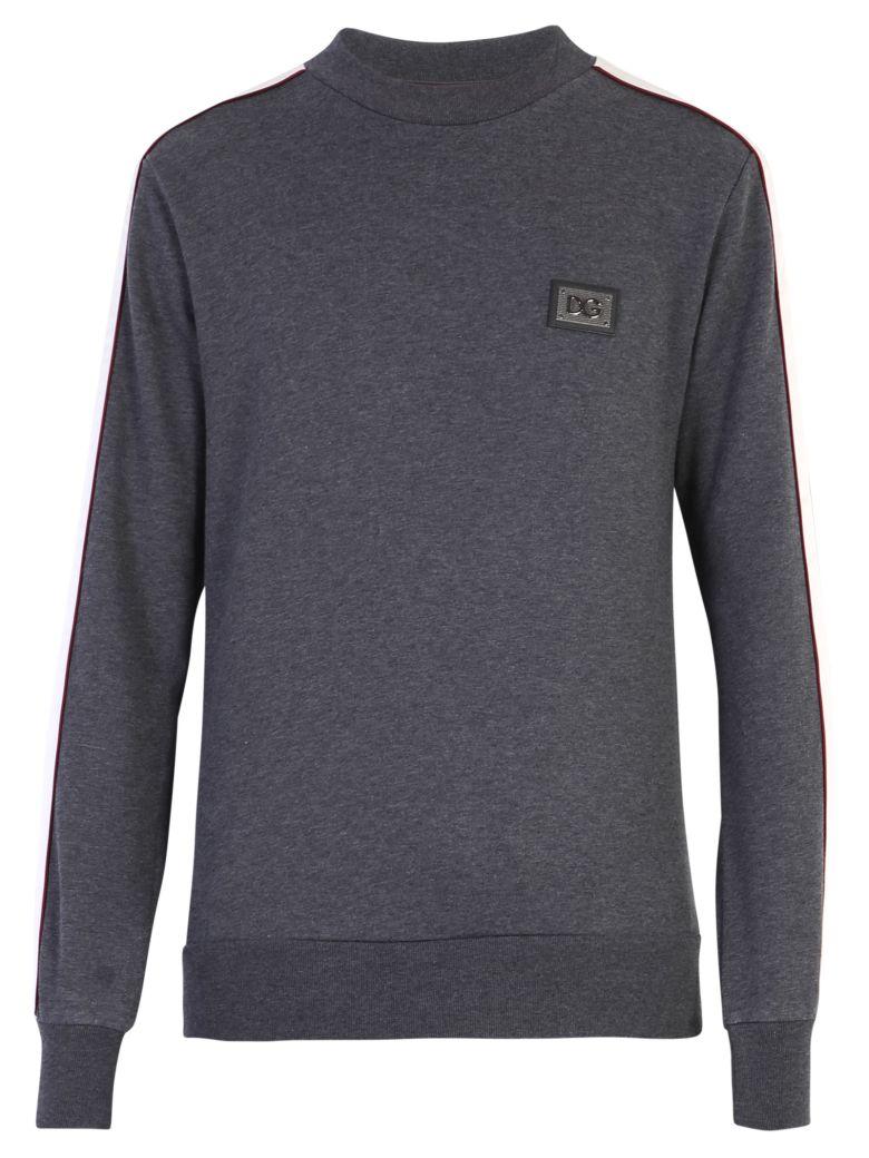 Dolce & Gabbana Side Bands Sweatshirt - Gray