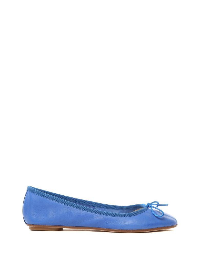Anna Baiguera Annette Leather Ballet Flats - Azzurro