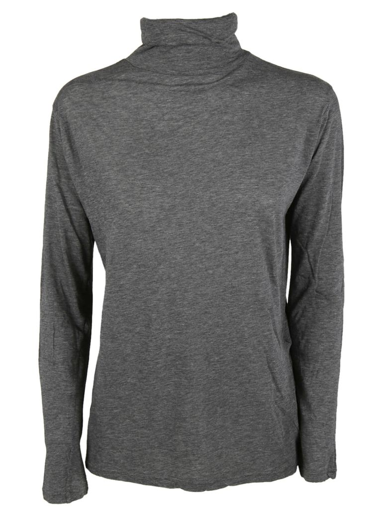 Zucca High Collar Sweater - Gray