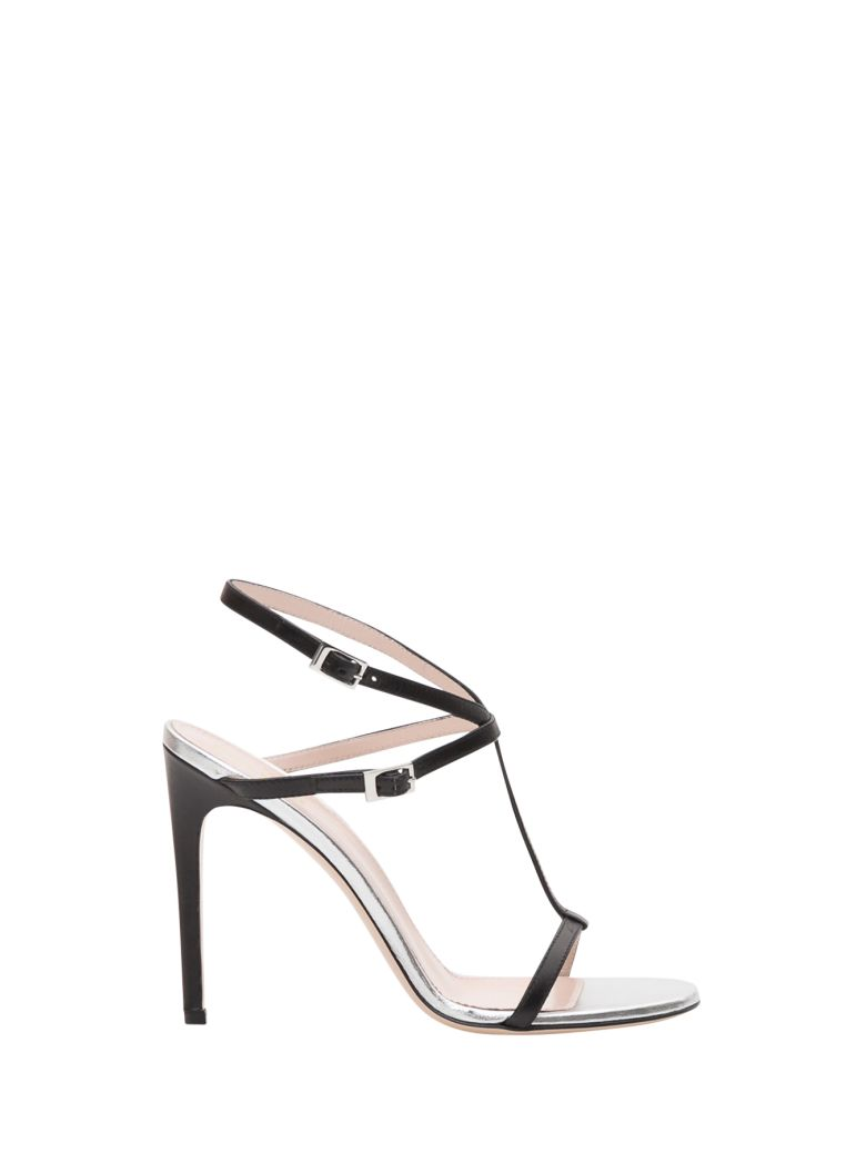 Pollini T-strap Sandals - Nero