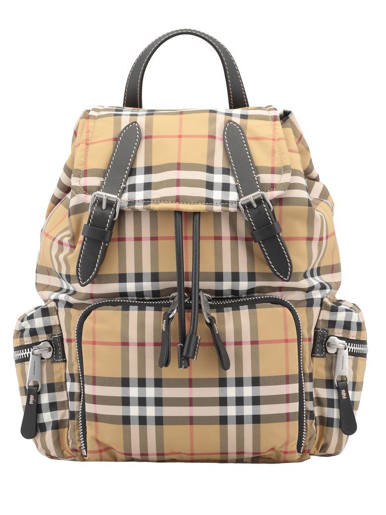 Burberry Rucksack Medium Backpack - ANTIQUE YELLOW