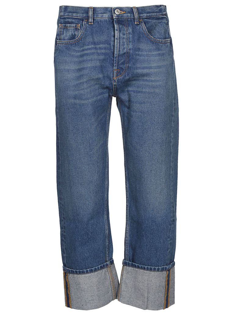 Valentino Wide Leg Jeans - Denim