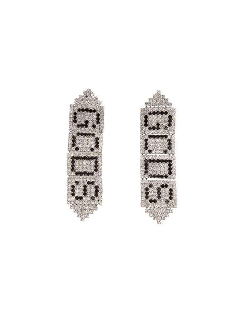 GCDS Earrings - Silver